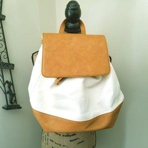 Sole Society Kaili Two Tone Backpack